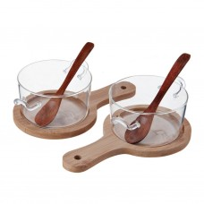 Juego de pozuelos con cucharas y tablas para servir Novo