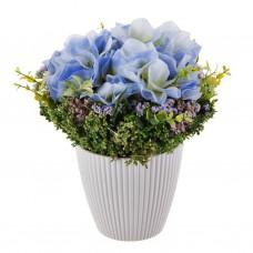 Arreglo floral con base de resina
