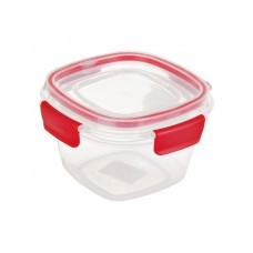 Repostero apilable con tapa hermética Easy Find Rubbermaid