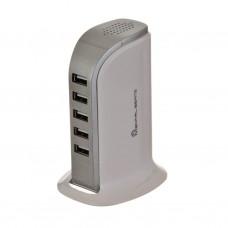 Cargador para escritorio 5 USB / 6 Amp Mental Beats