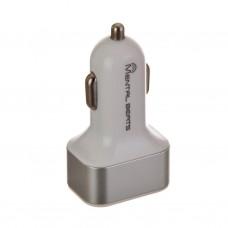 Cargador para auto 3 USB / 3.1 Amp Mental Beats