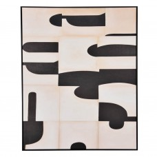 Cuadro con marco Geométrico Haus