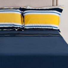 Juego de sábanas Azul Índigo