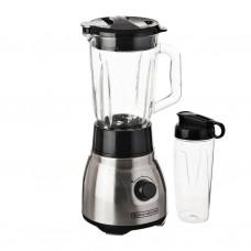 Licuadora con vaso de vidrio 750W Quadpro FusionBlade Black & Decker