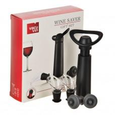 Juego de regalo para servir y preservar el vino Vacuvin