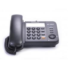 Teléfono alámbrico negro KX-TS580 Panasonic