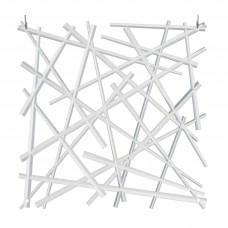 Panel separador de ambiente con ganchos Geométrico Koziol