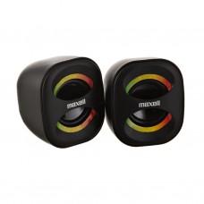Parlantes estéreo para PC USB Rasta Maxell