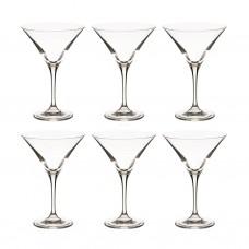 Juego de 6 copas Martini Elite Krosno Glass