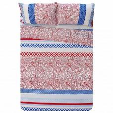 Juego de sábanas Estampado Arabesco 144 hilos polialgodón Prisma