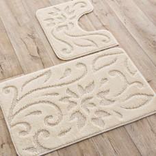 Juego de 2 alfombras para baño Giava Emmevi