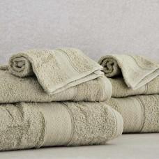 Juego de 6 toallas para tocador, manos y baño Luxury Elite Home