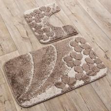 Juego de 2 alfombras para baño Paros Emmevi