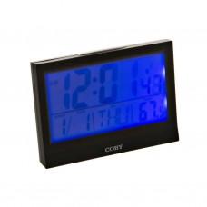 Reloj despertador con calendario / alarma Coby