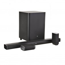 Barra de sonido 5.1 con subwoofer inalámbrico Bluetooth / AUX / HDMI / Audio Óptico JBL