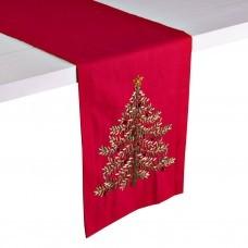 Camino de mesa Árbol de Navidad Cintas Haus