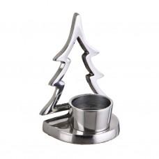 Porta tealight Árbol Silver