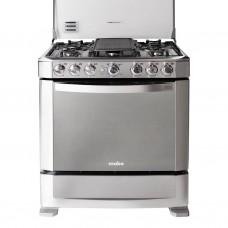 Mabe Cocina a gas Grill / Encendido eléctrico 6 quemadores 76cm EM7630FX0