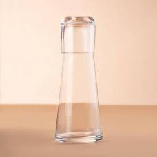 Botella con tapa vaso 2 piezas Novo