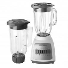 Licuadora con jarra de vidrio 1.25L / de plástico 1.65L 550W Black & Decker