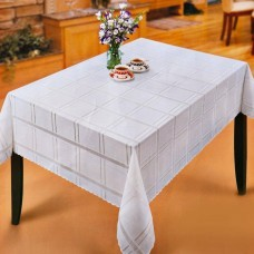 Mantel rectangular para 8-10 puestos Cuadros Haus