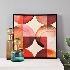 Cuadro Círculos Naranja / Multicolor
