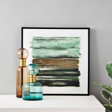 Cuadro Abstracto Verde / Dorado