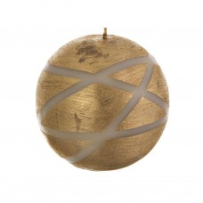 Vela esfera Satinado Franjas Infinity