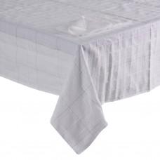 Mantel con servilletas Cuadros