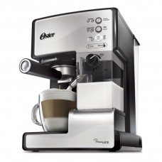 Cafetera Prima Latte Oster Plateado