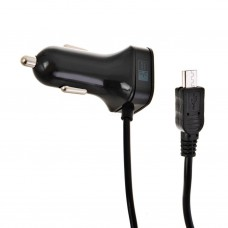 Cargador para auto con cable micro USB 1Amp Case Logic