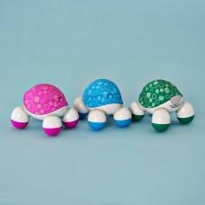 Mini masajeador con vibración / luz Turtle Surtido Homedics