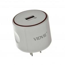 Cargador de pared Carga Rápida con cable Tipo-C 3.0mAh / 1 USB PLM310Q VIDVIE