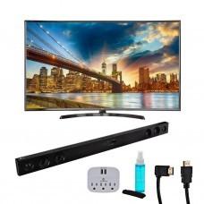 LG TV LED digital ISDB-T Smart UHD Kit + Barra de sonido 65'' 65UK6350