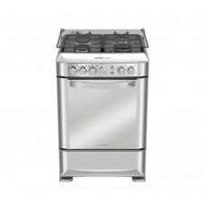 Mabe Cocina a gas 4 quemadores / Grill / Asador / Encendido eléctrico 60cm EM6095FX0