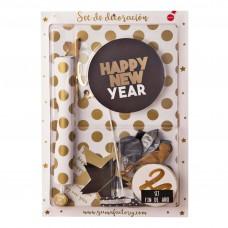 Decoración para Año Nuevo 86 piezas