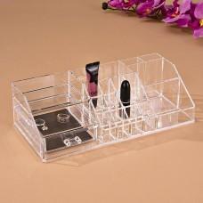 Organizador para cosméticos y joyas con cajón