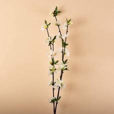 Rama con flor Blanco Haus