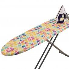 Forro para planchador Triángulos Multicolor Novo