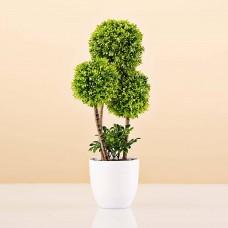 Planta artificial Topiario con maceta Haus