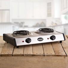 Cocina eléctrica 2 hornillas 1500W Umco