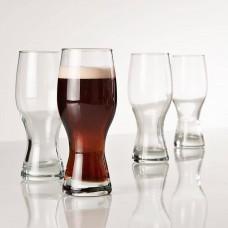 Juego de 4 vasos cerveceros con caja de regalo Munich Cristar