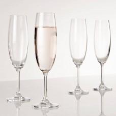 Juego de 4 copas champagne Leona Navigator