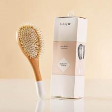 Cepillo para cabello Madera de haya / Nylon Ningbo Bathing