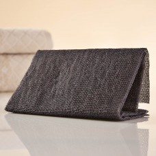 Pad exfoliante para cuerpo Bamboo Charcoal Ningbo Bathing