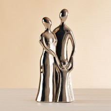 Figura Familia Silver Liso