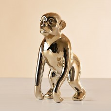 Figura Mono Dorado