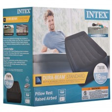 Colchón inflable impermeable con bomba Twin Intex