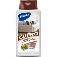 Limpiador y acondicionador para muebles de cuero Binner
