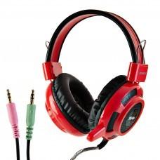 Audífonos estéreo gaming con control de volumen XTR-662599-RD Xtratech